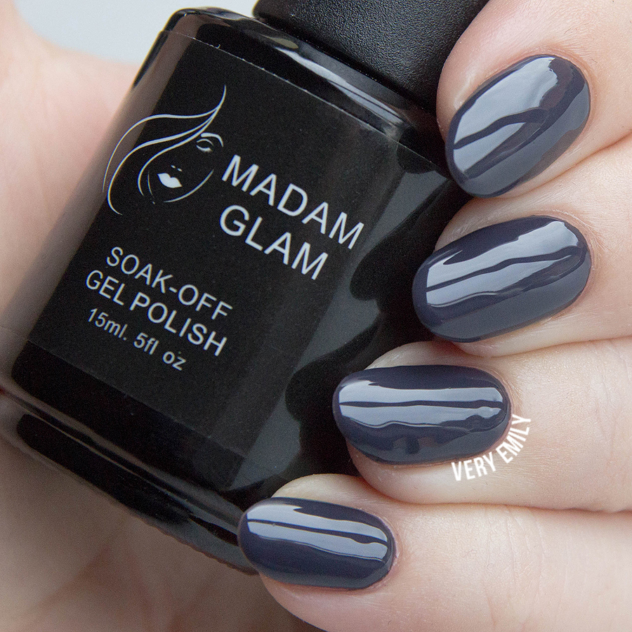 30 Shades of Grey Nail Polish | Nail Design Ideaz