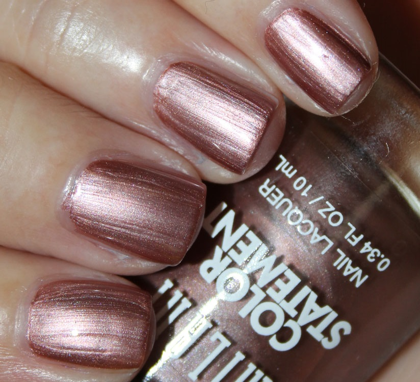 Nail Polish Colors Bronze: 34 Shiny Metallic Nail Polish