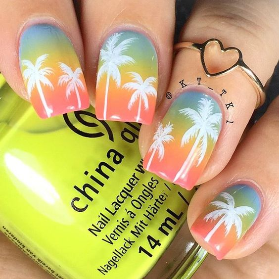 30 Captivating Palm Nails