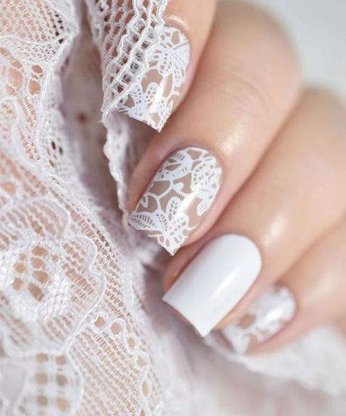 30 Lovely Lace Nail Designs