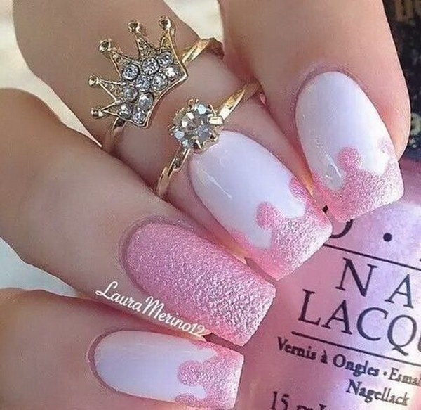 - 32 Pink And White Nails Nail Design Ideaz