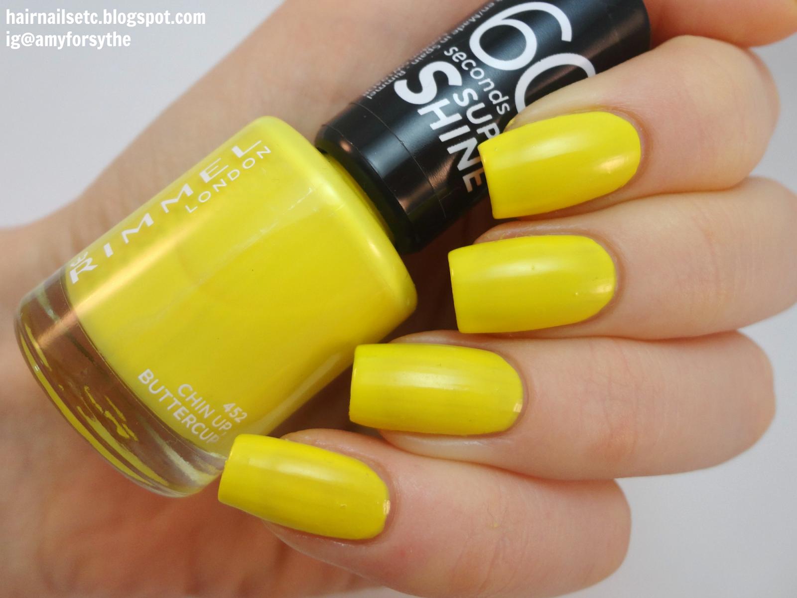 30 Yellow Nail Polish Guaranteed To Cheer You Up | Nail Design Ideaz