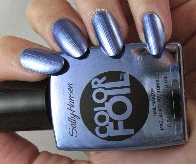 34 Shiny Metallic Nail Polish Nail Design Ideaz Page 15
