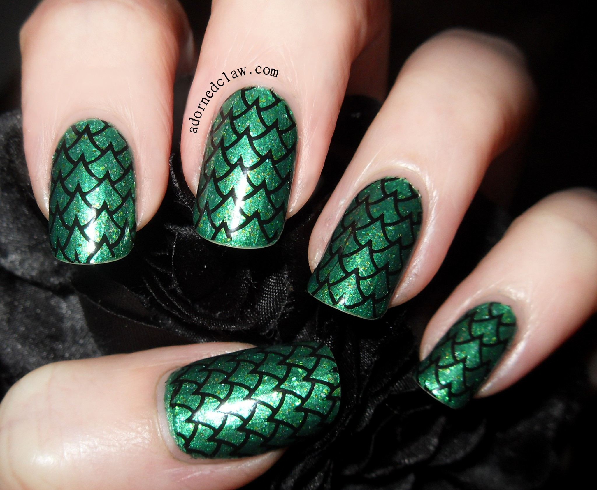 40 Modish Green Nails Nail Design Ideaz