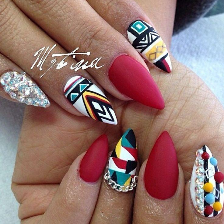 - 32 Stunning Almond Nail Design Nail Design Ideaz