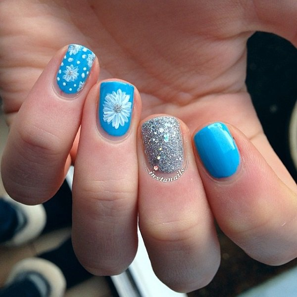 40 Nail Designs With Glitter And Bling Nail Design Ideaz