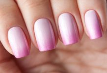 simple acrylic nails