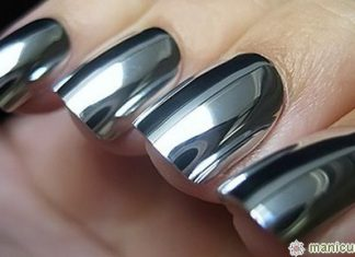 chrome nails diy
