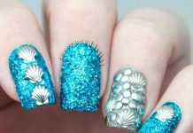 seashell nails pictures