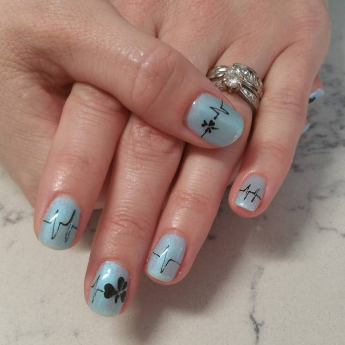 100 Nurse Nail Designs Inspired by the Medical Profession | Nail ...
