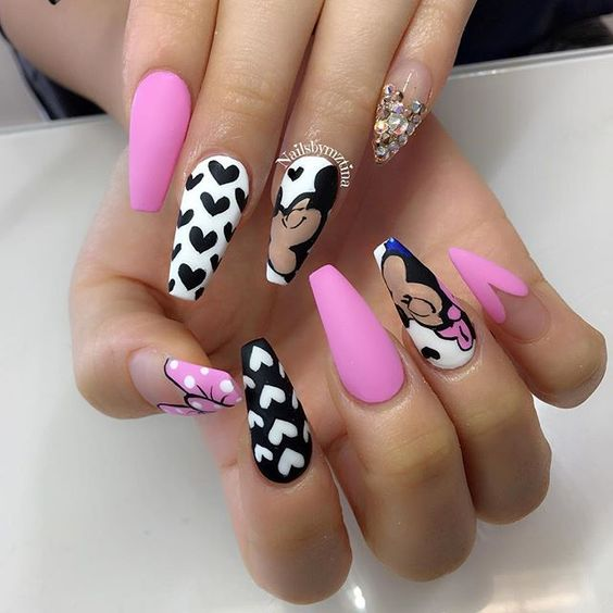 20 Best Coffin Nail Designs Nail Design Ideaz
