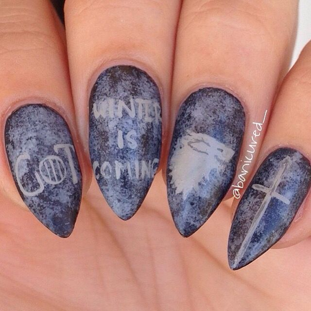 Chocolate Nails Art Game Online Nail Games: 10 Game Of Thrones Nail Art For Fans