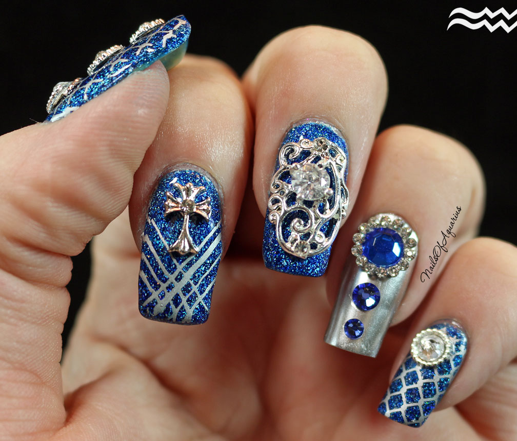 20 Fab Aquarius Nails That Will Surely Win Your Heart | Nail Design ...