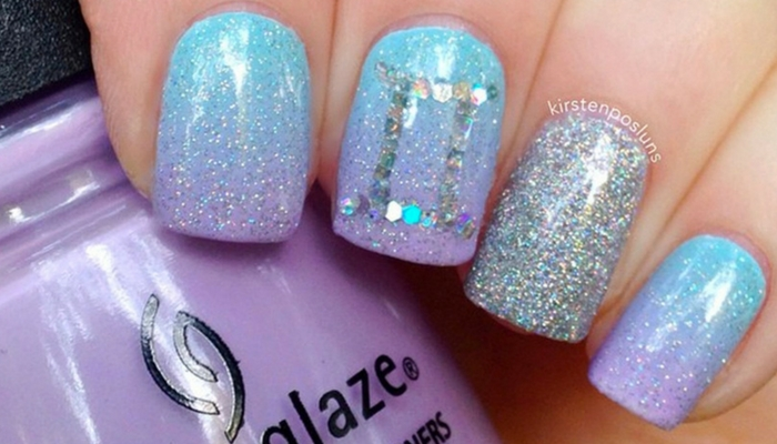 13 Cool Gemini Nails To Express Your Personality