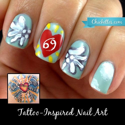 15 Great Cancer Nails You Cant Pass Up Nail Design Ideaz