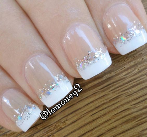17 Classy Pearl Tip Nails Nail Design Ideaz