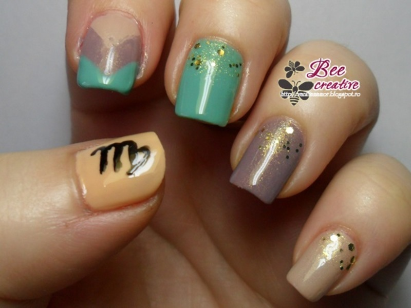 13 Virgo Nail Art Ideas To Spice Up Your Style | Nail Design Ideaz