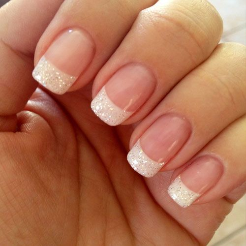 French Nail Design: 17 Classy Pearl Tip Nails