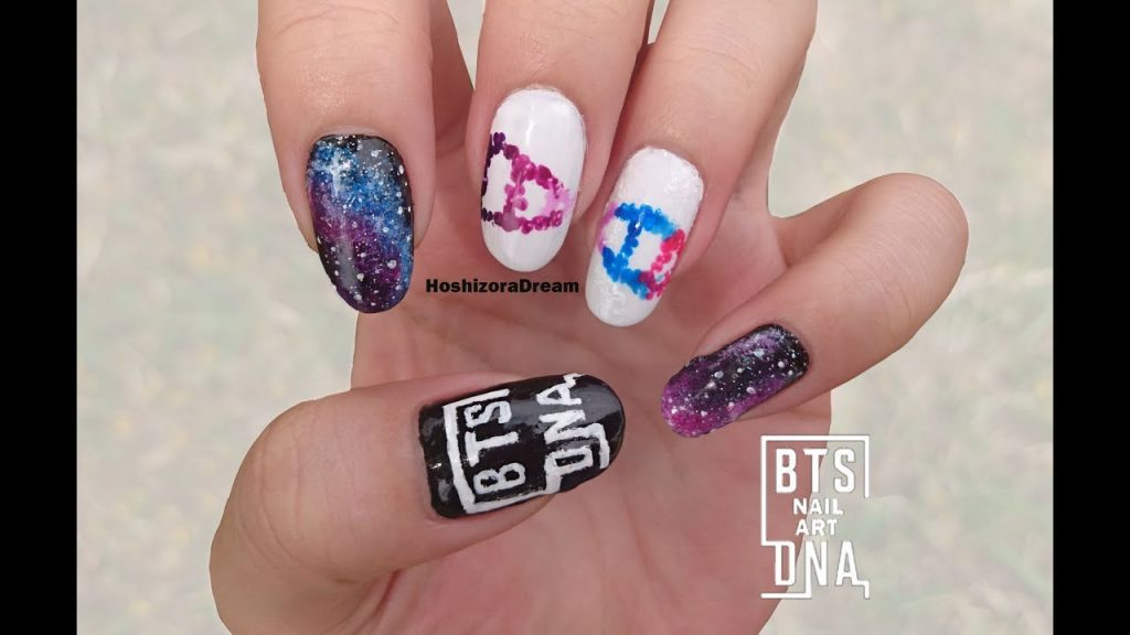 28 BTS Nails That Are Taking Over The Internet | Nail Design Ideaz