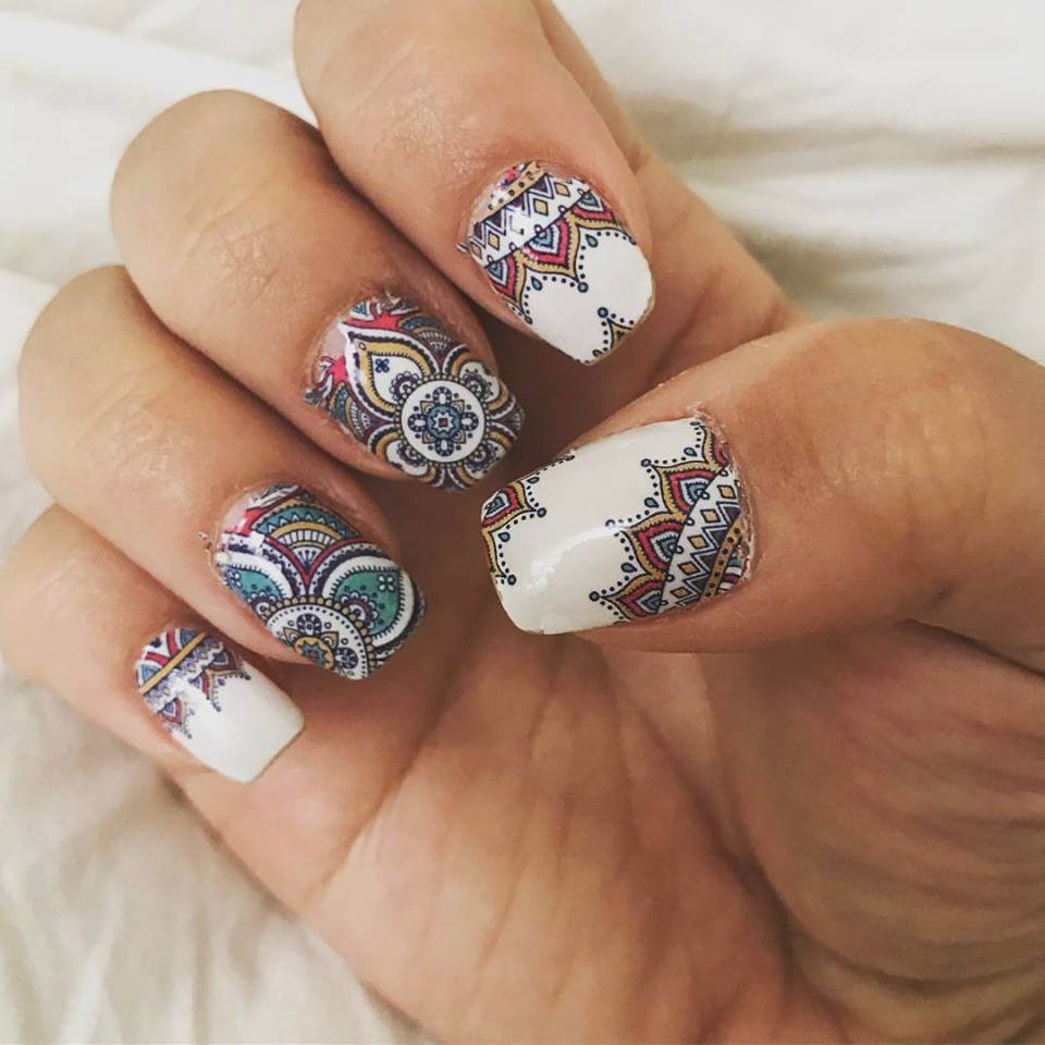 35 Carefree Boho Nail Designs | Nail Design Ideaz
