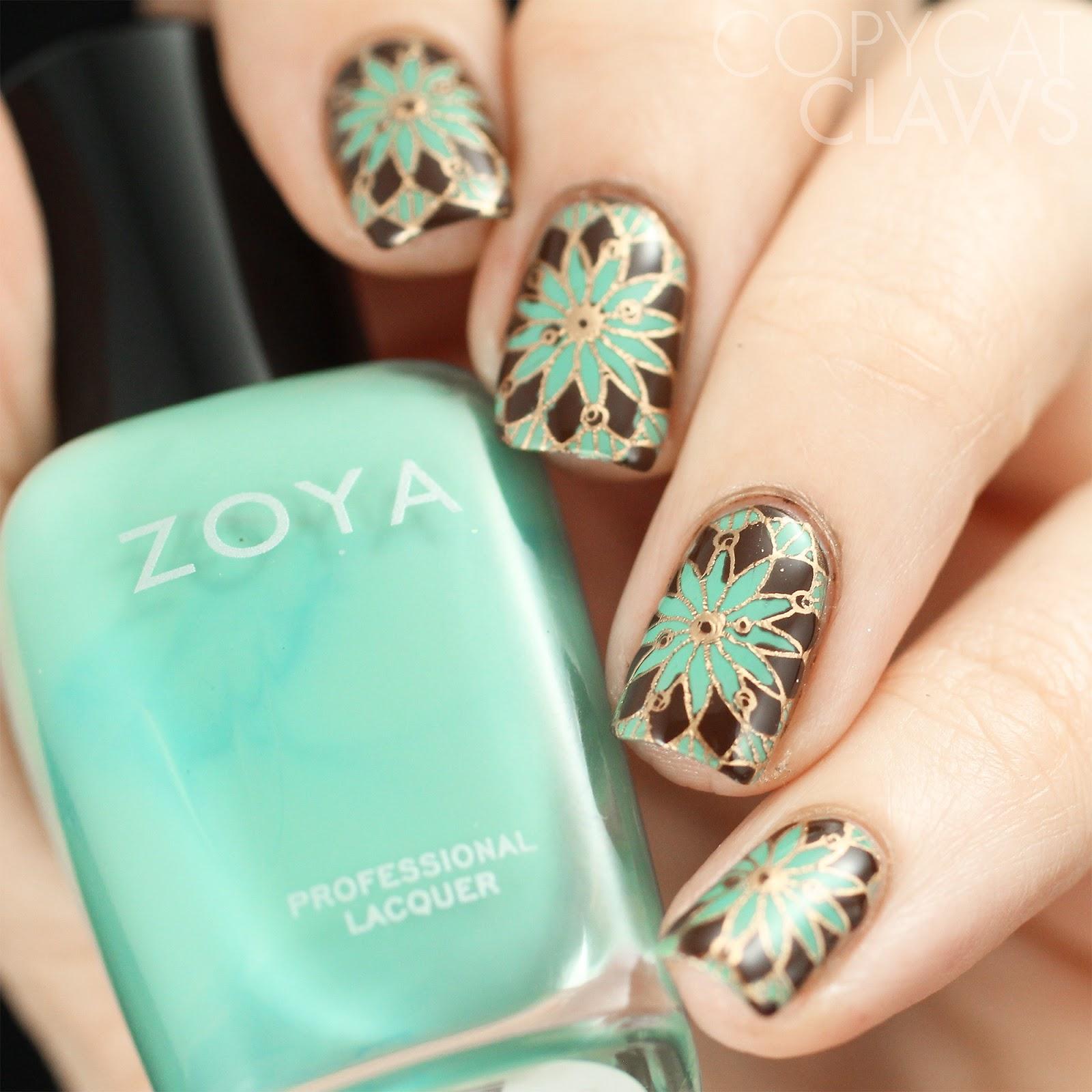 3gorgeous Bohemian Nail Art