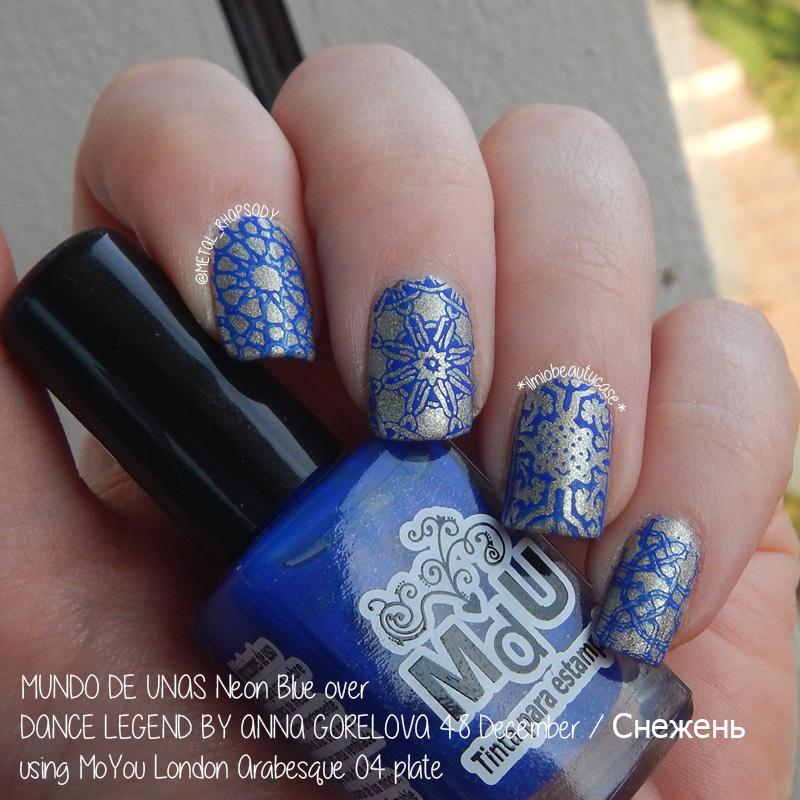 30 Noteworthy Arabesque Nail Design | Nail Design Ideaz