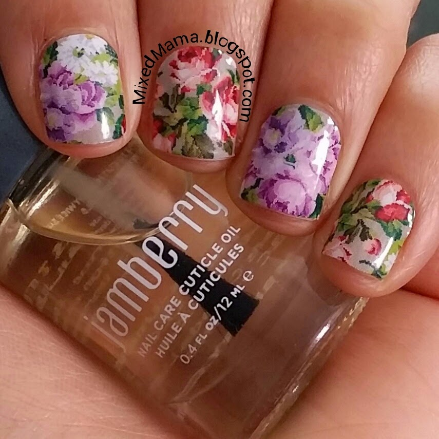 40 Breathtaking Botanical Nail Art | Nail Design Ideaz