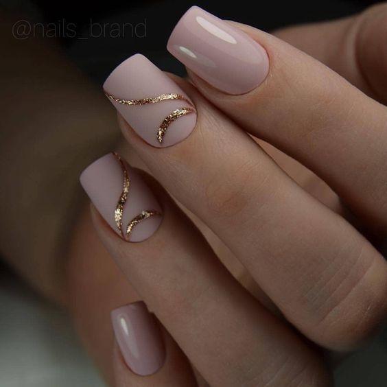 40 Classy Minimalist Nail Designs