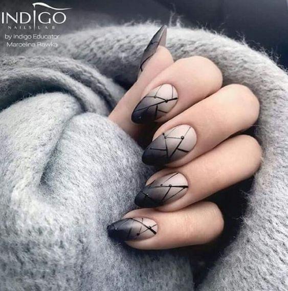38 Striking Modern Nails   Nail Design Ideaz