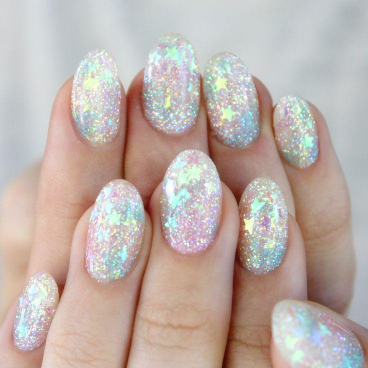35 Whimsical Celestial Nails | Nail Design Ideaz