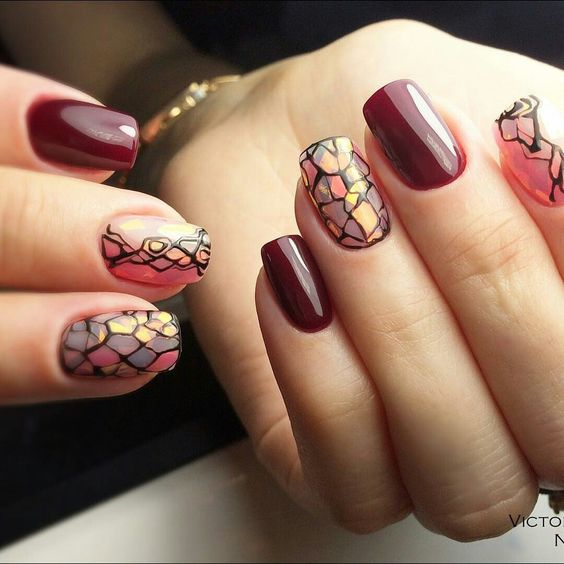My Top 10 And Top 5 Nail Artists Who: 38 Striking Modern Nails