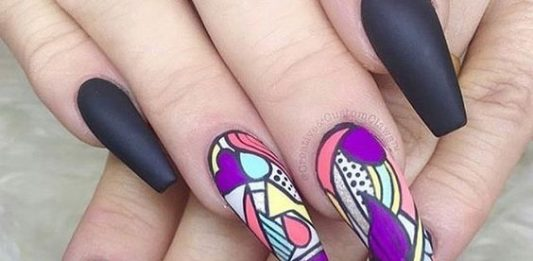 Mural Inspired Nails