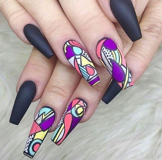 40 Artsy Nail Design Nail Design Ideaz