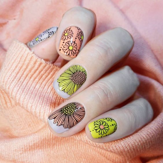 40 Lovely Spring Nail Designs