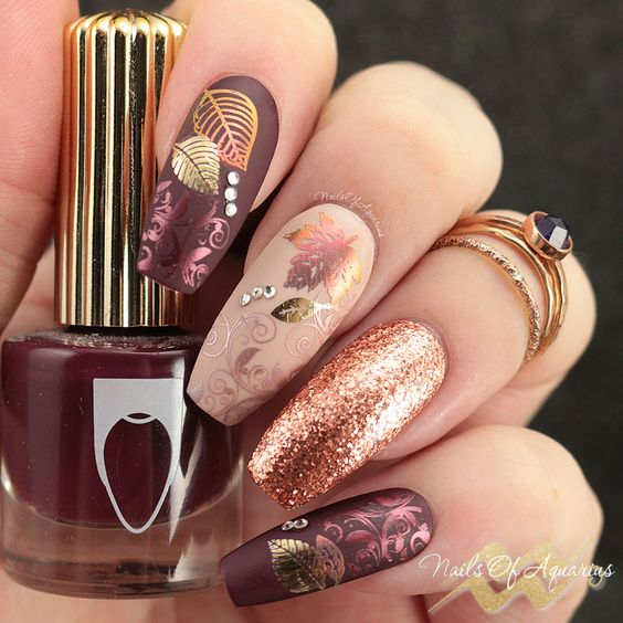 35 Bold Edgy Nails Nail Design Ideaz