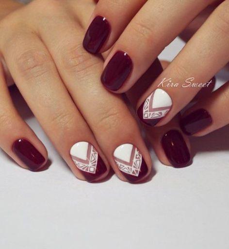 30 Arresting Designs For Short Nails Nail Design Ideaz