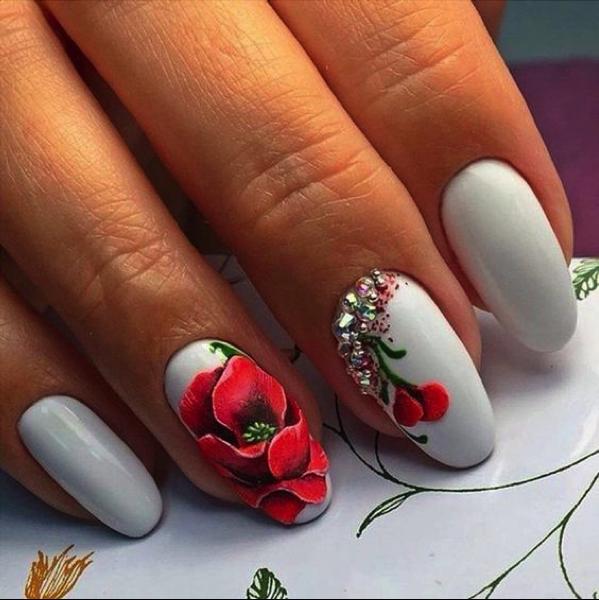 40 Lovely Spring Nail Designs | Nail Design Ideaz