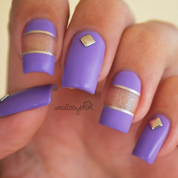 40 Sophisticated Purple Nail Art | Nail Design Ideaz