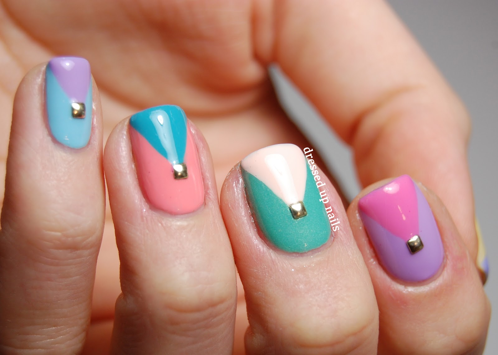 35 Slaying Triangle Nail Art Nail Design Ideaz