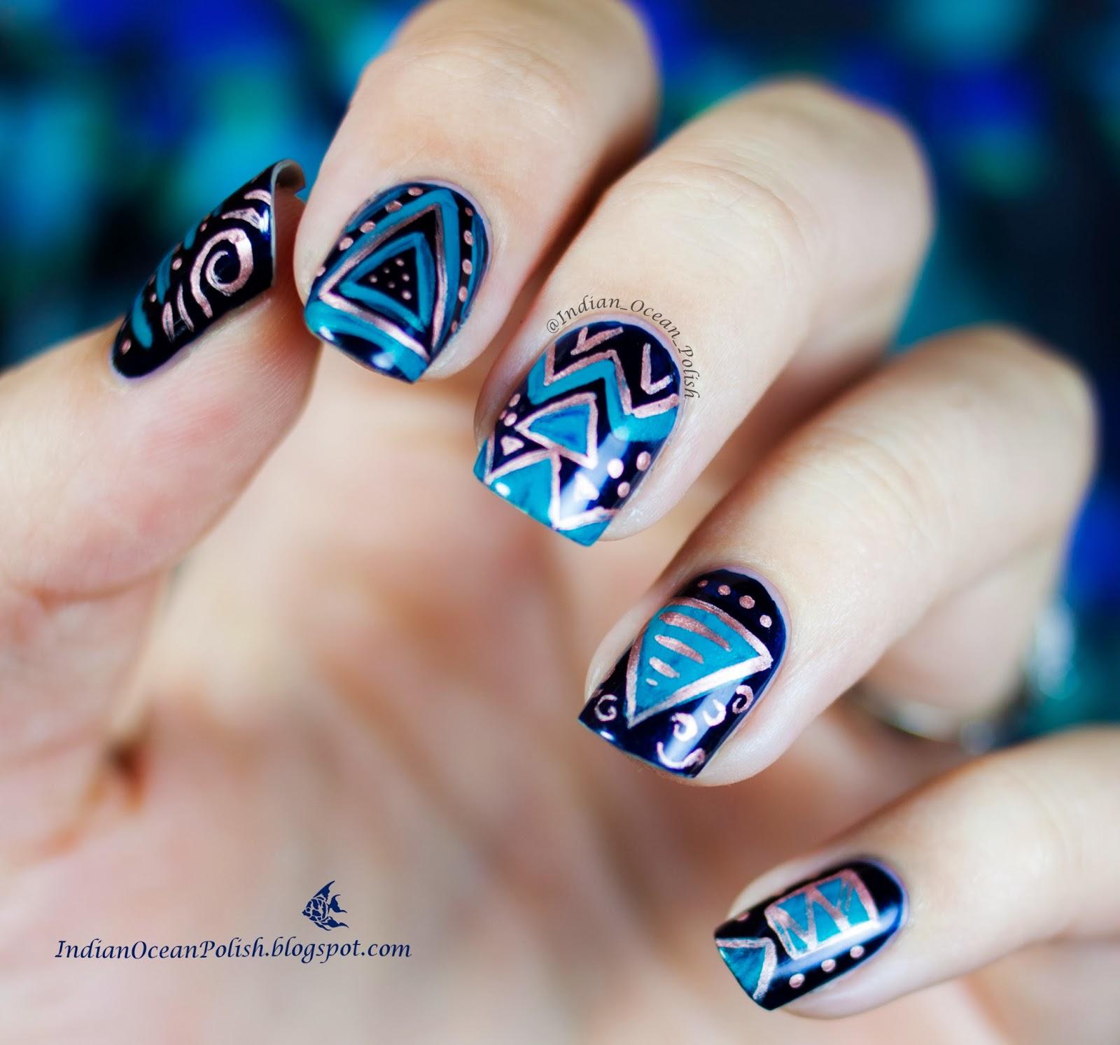 35 Slaying Triangle Nail Art | Nail Design Ideaz