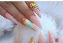 Dreamy Stiletto Nail Art