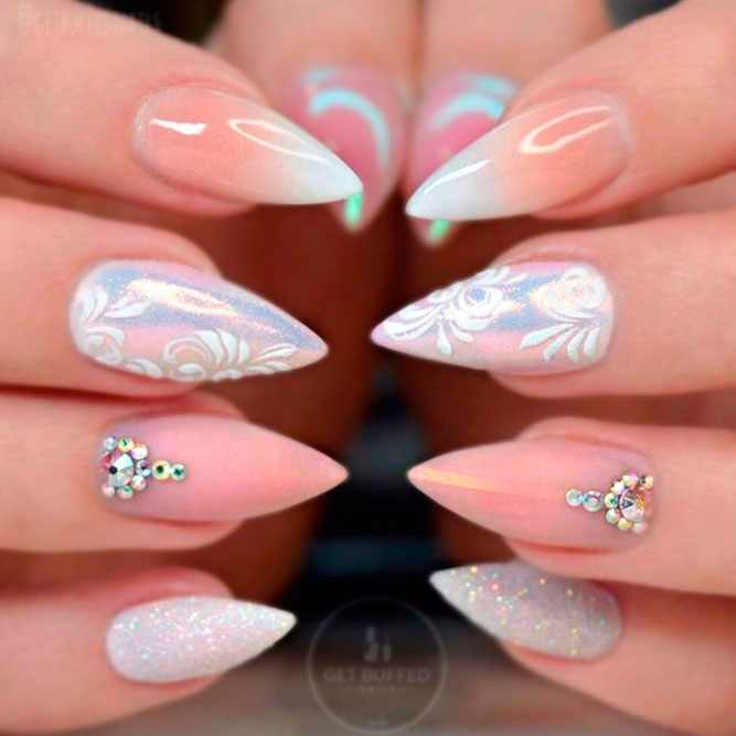 Girly Nail Art: 38 Girly Nail Designs That Are Definitely Worth Stealing