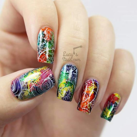 30 Bright Nail Designs To Spice Up Your Looks