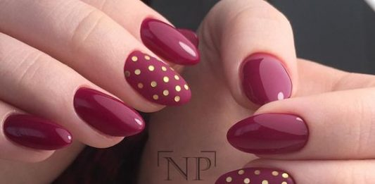 Dotticure Red Nails