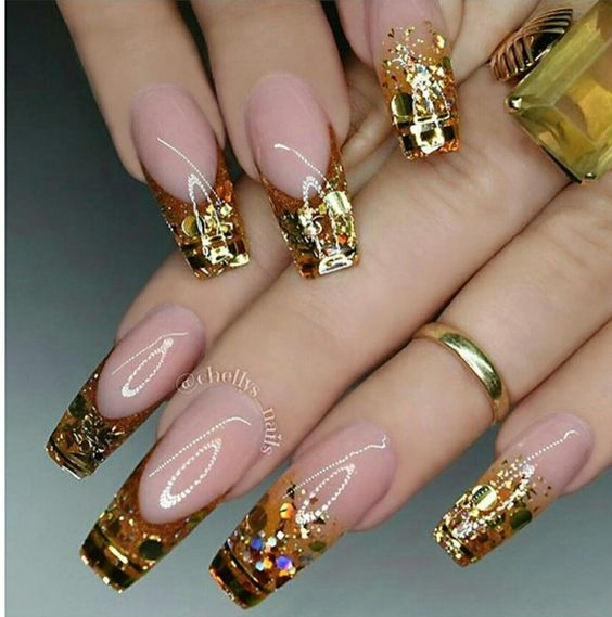 122 Nail Art Designs That You Won T Find On Google Images: 40 Pin-Worthy Fall Nails Design