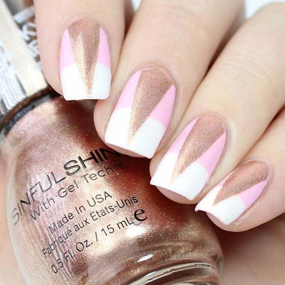 30 Rose Gold Nail Art Ideas That Will Definitely Look Perfect For Holidays!