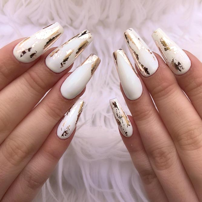 35 Foil Nail Design To Spice Up Your Manicure