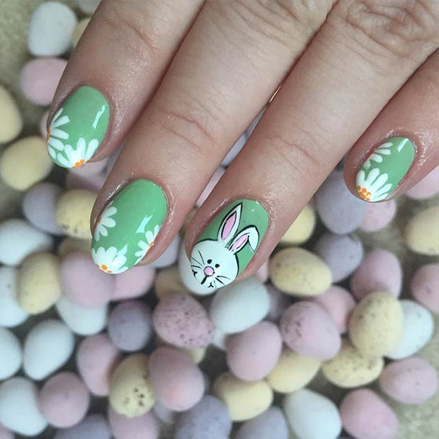 40 Best Easter Nail Art To Spruce Up Your Manicure