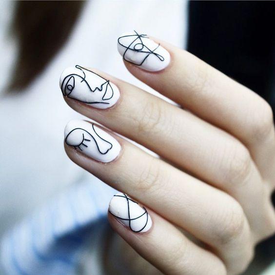 30 Trendy Korean Nail Designs